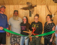 Addicted to Racks Taxidermy holds grand opening with virtual ribbon cutting