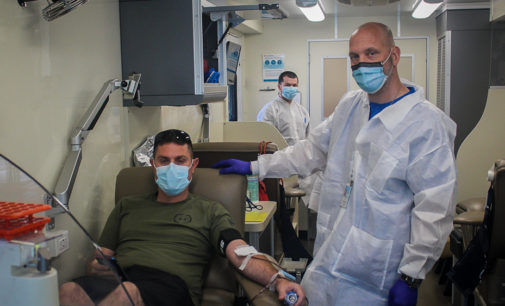 Breckenridge's Battle of the Badges Blood Drive continues today and Saturday