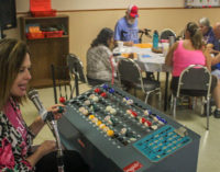Seniors, guests gather for final bingo game at the Breckenridge Senior Citizens Center