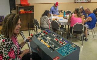 Final bingo game at the City of Breckenridge's Senior Citizens Center