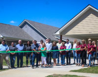 Caddo Creek Investments cuts ribbon at new homes
