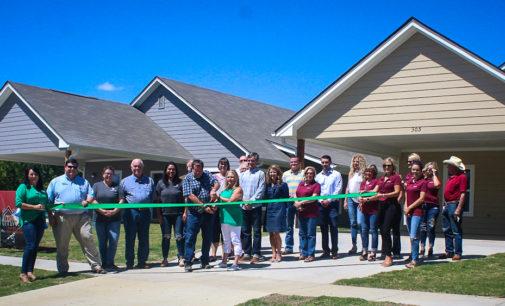 Caddo Creek Investments cuts ribbon at new homes