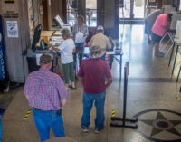 First day of early voting in Stephens County sets record