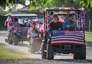 Local neighborhood parade captures spirit of Fourth of July holiday