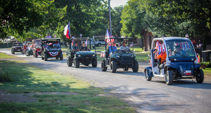 Lakeshore Estates celebrates Independence Day with parade for the Hubbard Creek Lake neighborhood
