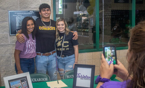 Breckenridge High School athletes sign with area colleges