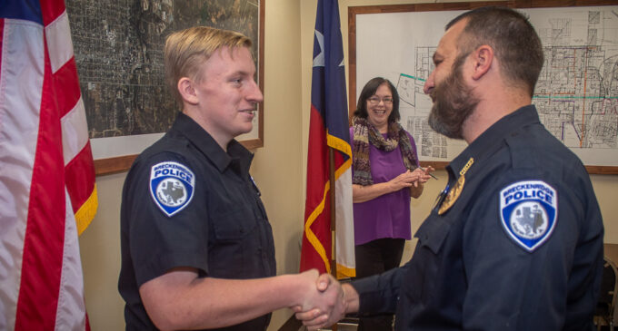 Bufkin fulfills life-long dream by becoming Breckenridge Police officer