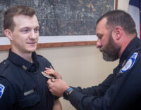 Heugatter joins Breckenridge Police Department as its newest patrol officer
