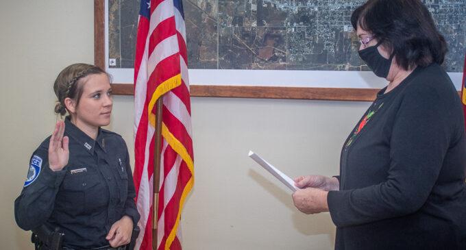 Ramirez sworn in as third new home-town Breckenridge Police Officer