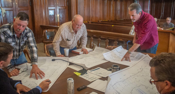 Stephens County Commissioners approve subdivision plan at PK Lake, discuss TxDOT project for FM 3099