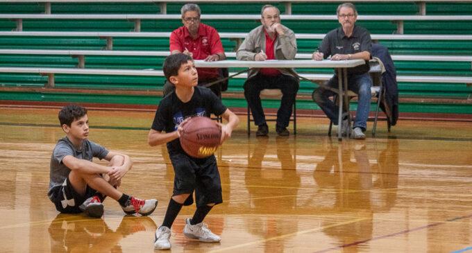 Breckenridge Elks Club hosts annual Hoop Shoot free throw contest