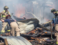 Wednesday afternoon fire destroys Breckenridge home