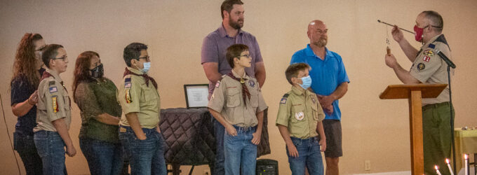 Breckenridge's Cub Scout Pack 81 presents year-end awards at Blue and Gold Banquet