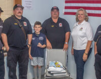 Breckenridge Fire Department honors Rhyder Patterson with ceremony