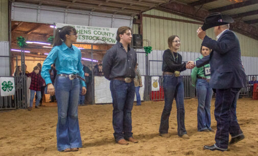 Annual stock show wraps up with presentation of Master Showman Award to Addison Duncan