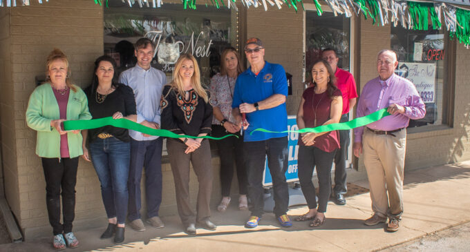 The Nest Boutique hosts ribbon cutting ceremony