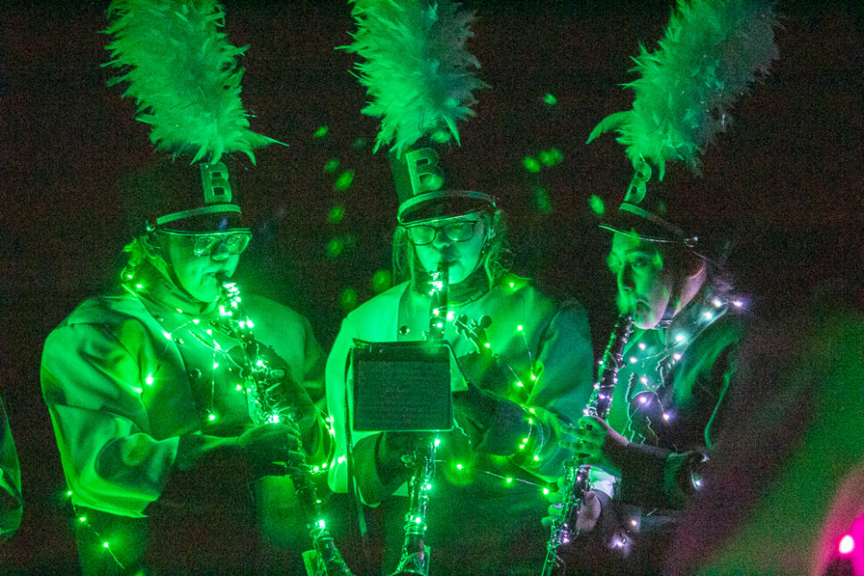 BHS Band's 2020 Light Show in Pictures
