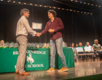BHS presents scholarships, awards; Class of 2021 to graduate Friday, May 28