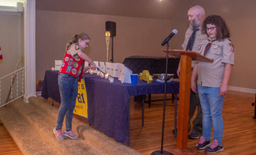 Breckenridge's Cub Scout Pack 81 presents year-end awards, names new Cubmaster at Blue and Gold Banquet