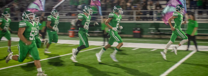 Buckaroos lose to Loboes in first home game of 2020 season