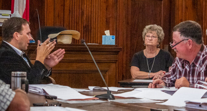 Stephens County Commissioners approve 2021 budget and tax rate, lift burn ban
