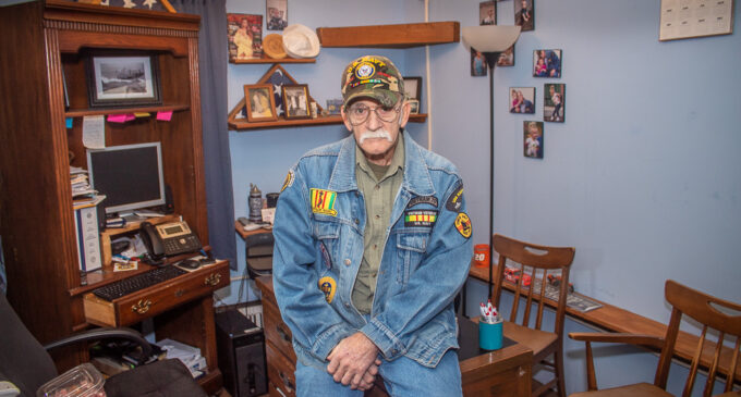 Smith gives back by helping local veterans with their benefits claims