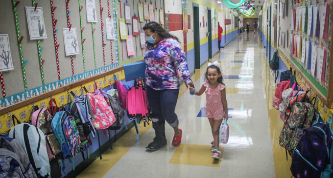 Local students return to school today; school zone laws in effect