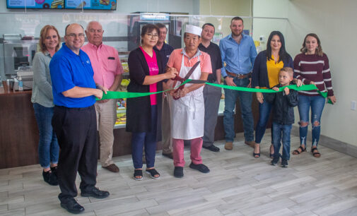 King Donuts holds ribbon-cutting with Breckenridge Chamber of Commerce