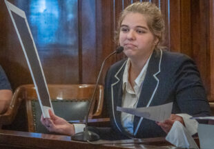 Mock Trial in photos