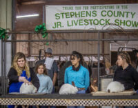 Stephens County Junior Livestock Show kicks off with Rabbit Show, continues today