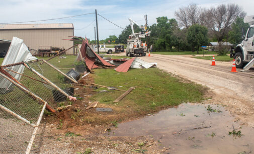 High winds, lightning cause damage, light flooding in Stephens County and Breckenridge