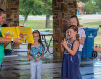 Breckenridge Library hosting Story Time at the park every Tuesday in July