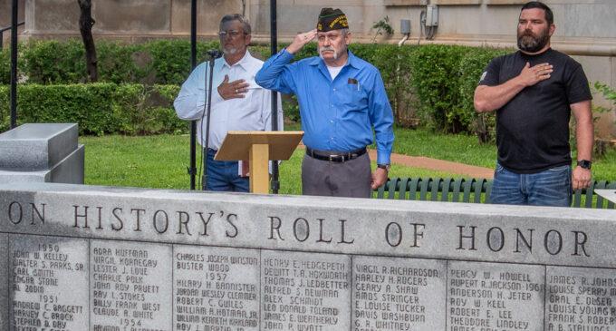 Annual ceremony honors deceased Stephens County veterans