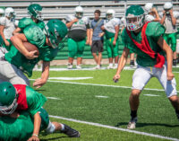 Breckenridge Buckaroos wrap up second week of football practice with inter-squad scrimmage this evening