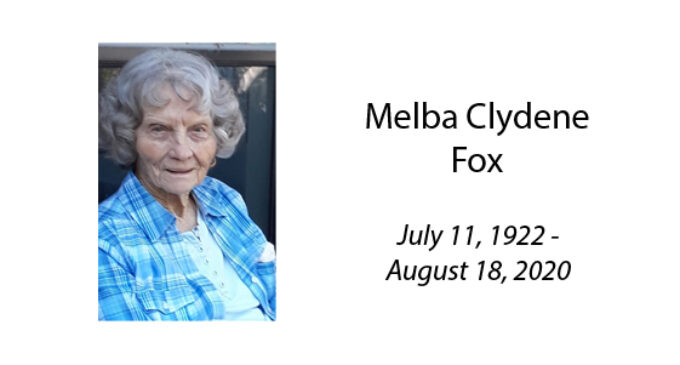 Melba Clydene Fox