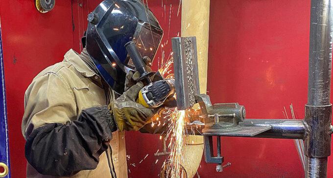 Breckenridge's TSTC program offers career advice, as well as hand-on welding instruction