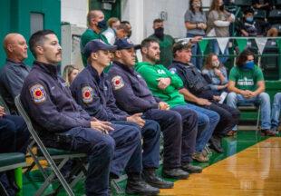 Breckenridge High School honors first responders, veterans on 9/11