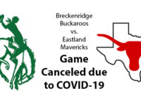 Buckaroo vs. Eastland football games canceled due to COVID-19