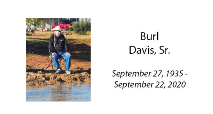 Burl Davis, Sr.