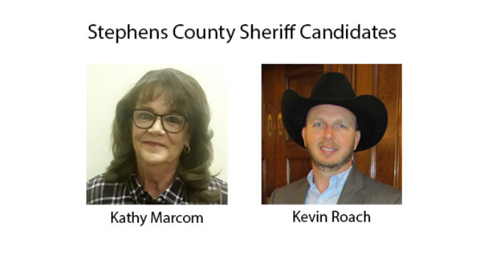 Experts: No legal issues with upcoming Stephens County sheriff's race