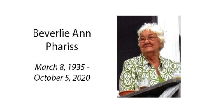 Beverlie Ann Phariss