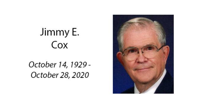 Jimmy E. Cox