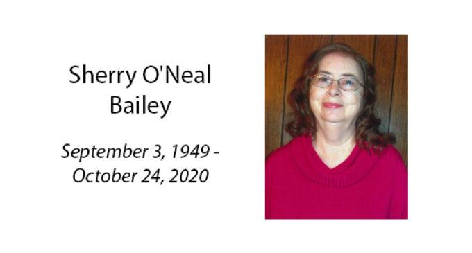 Sherry O'Neal Bailey