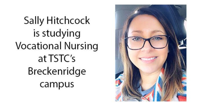 Sisterly advice leads Breckenridge resident to TSTC's Vocational Nursing program