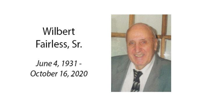 Wilbert Fairless, Sr.