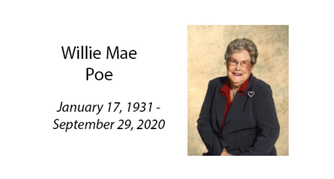 Willie Mae Poe