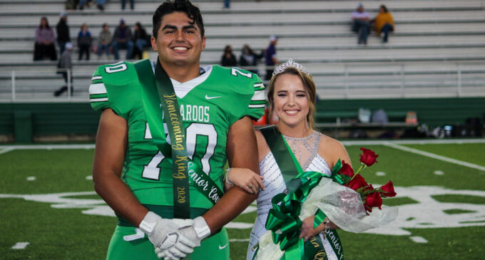 Kayla Wood and Jonathan Trejo crowned 2020 Breckenridge Homecoming Queen and King