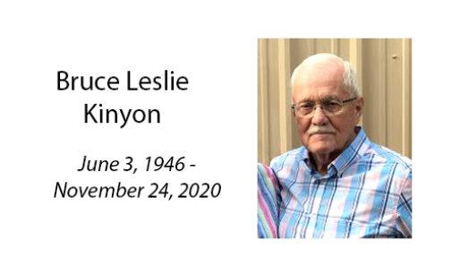 Bruce Leslie Kinyon