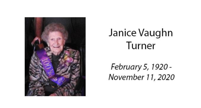 Janice Vaughn Turner