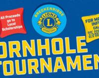 Breckenridge Lions Club's cornhole tournament, raffle to benefit scholarship fund